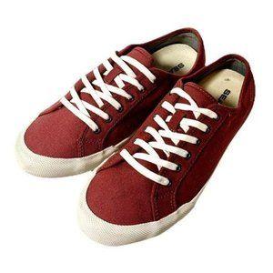 SeaVees Monterey Rustic Red Sneakers